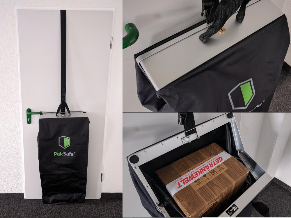Der PakSafe im Test. Fotos: Andy Gotter